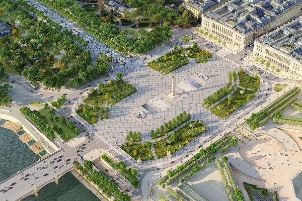 [A famosa Av.Champs-Élysées de Paris passará por uma reforma radical ]