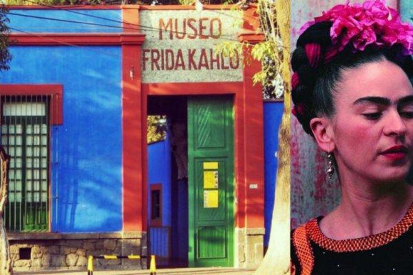[Está no ar o Museu Virtual de Frida Kahlo que permite visitar a casa onde a artista nasceu]