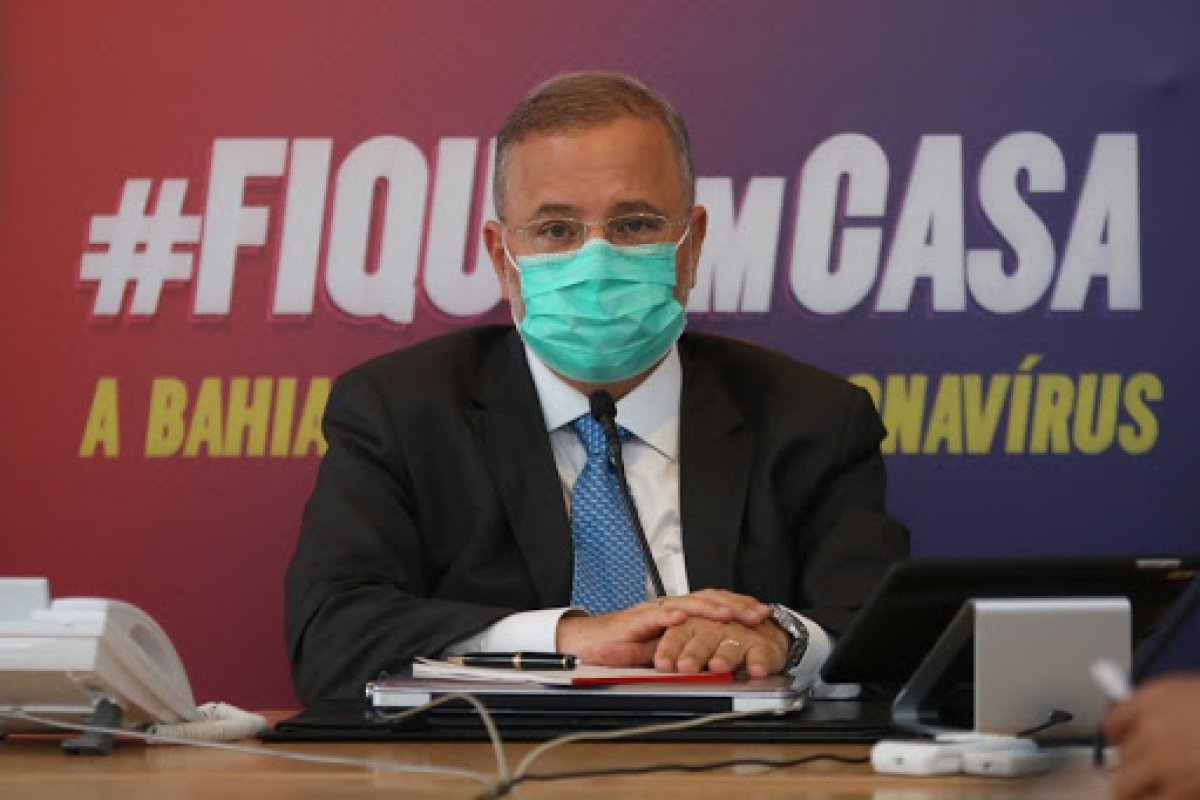 [ Secretário de Saúde da Bahia tem piora no quadro da Covid-19 e é transferido para UTI]