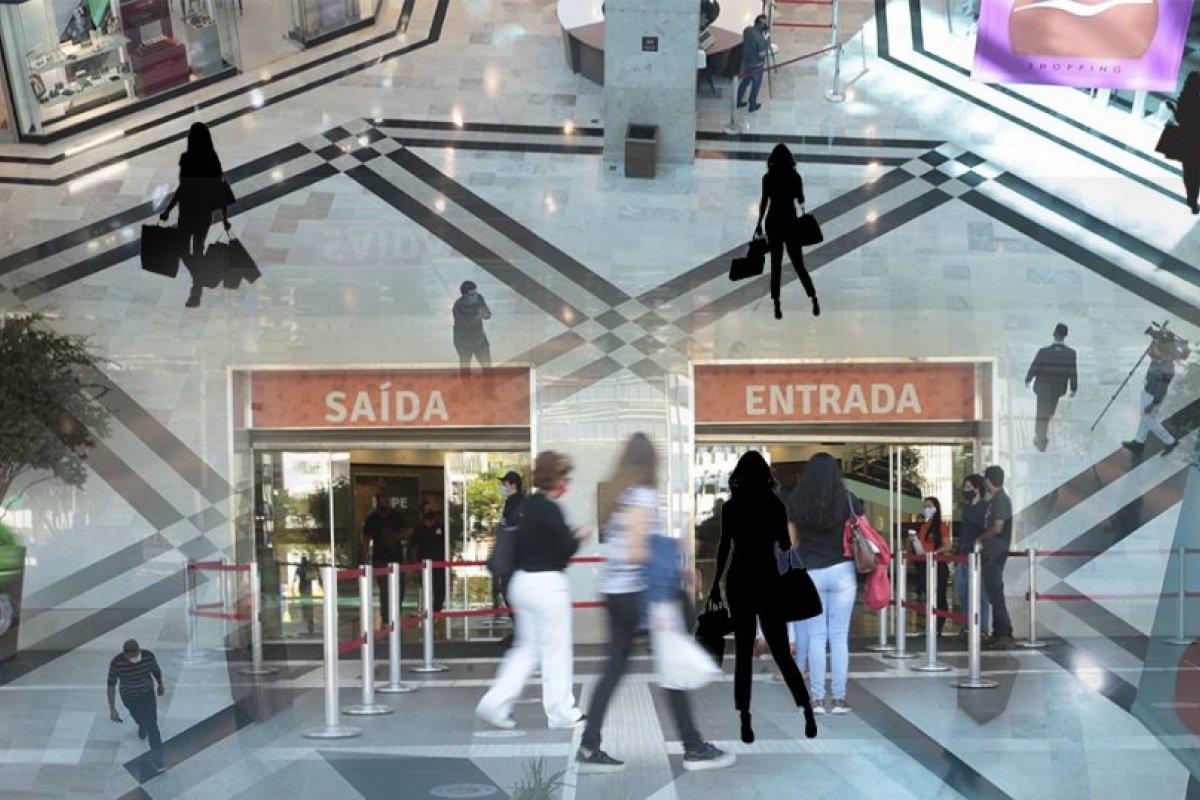 [Associação de franquias pede revisão de contratos de lojas nos shoppings ]