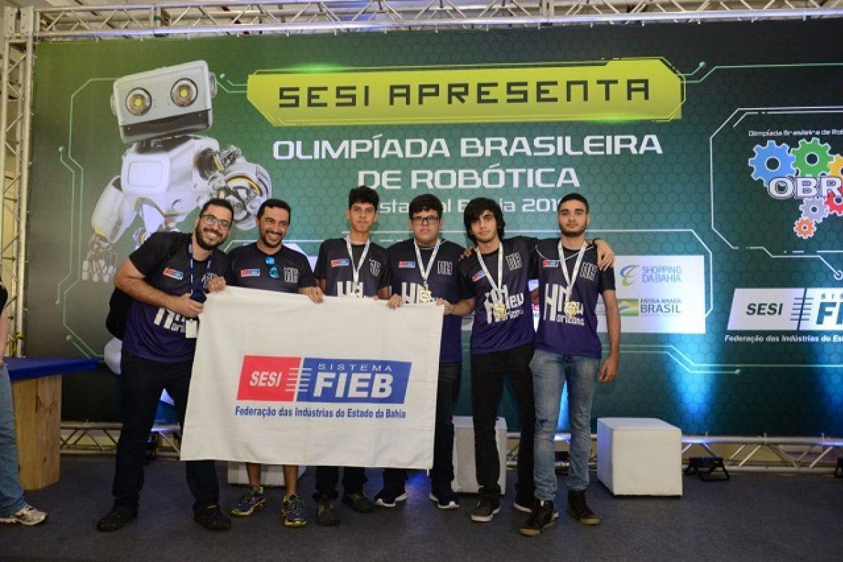 [Quatro equipes baianas são classificadas para a etapa nacional da Olimpíada Brasileira de Robótica]