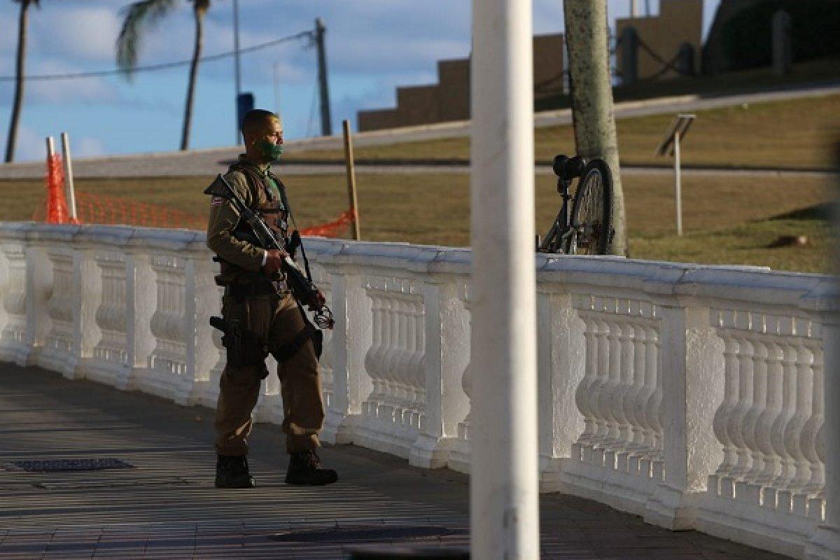 [MP acompanha investigação de morte de militar no Farol da Barra]
