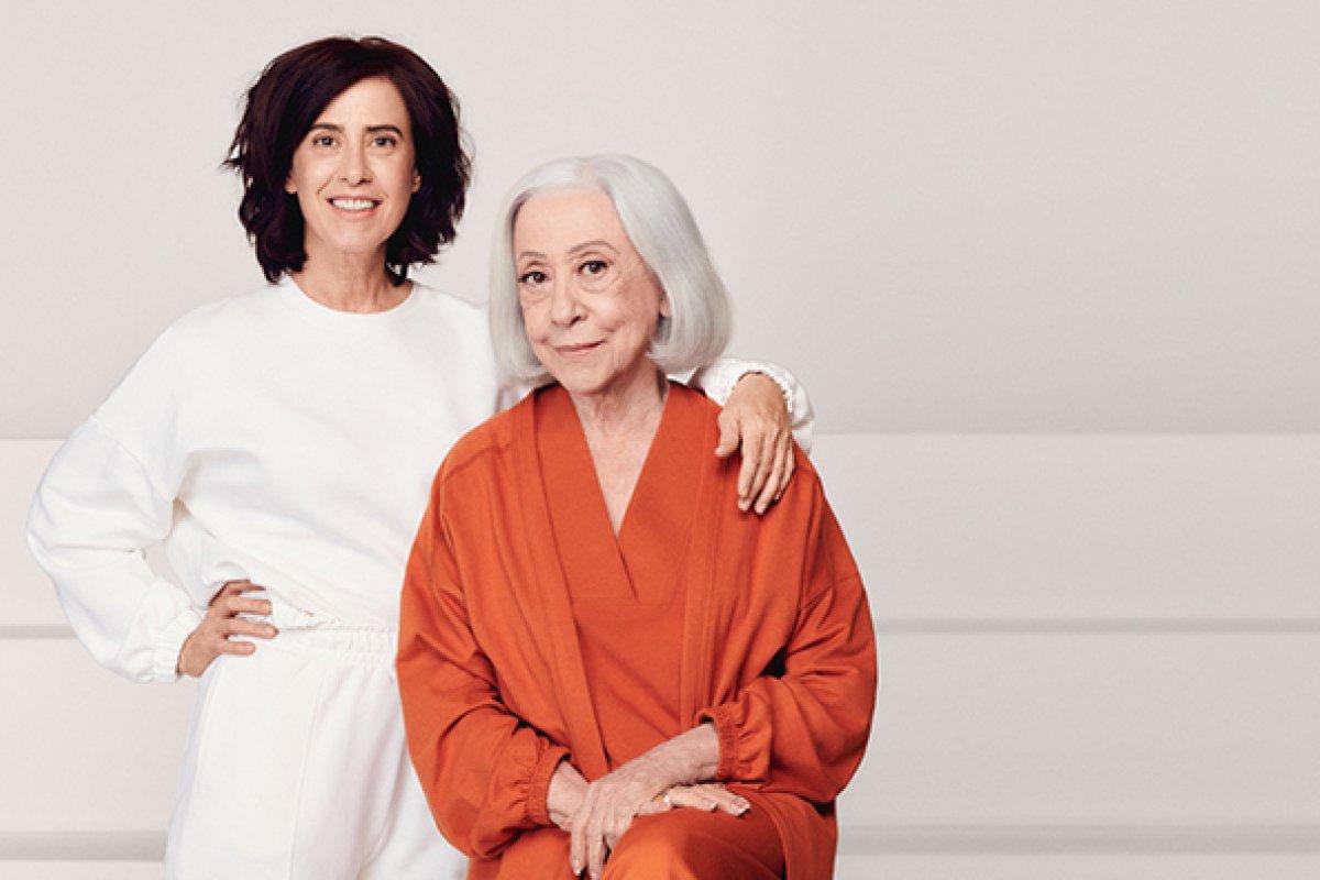 [Fernanda Montenegro e Fernanda Torres brilham em campanha de Dia das Mães! ]
