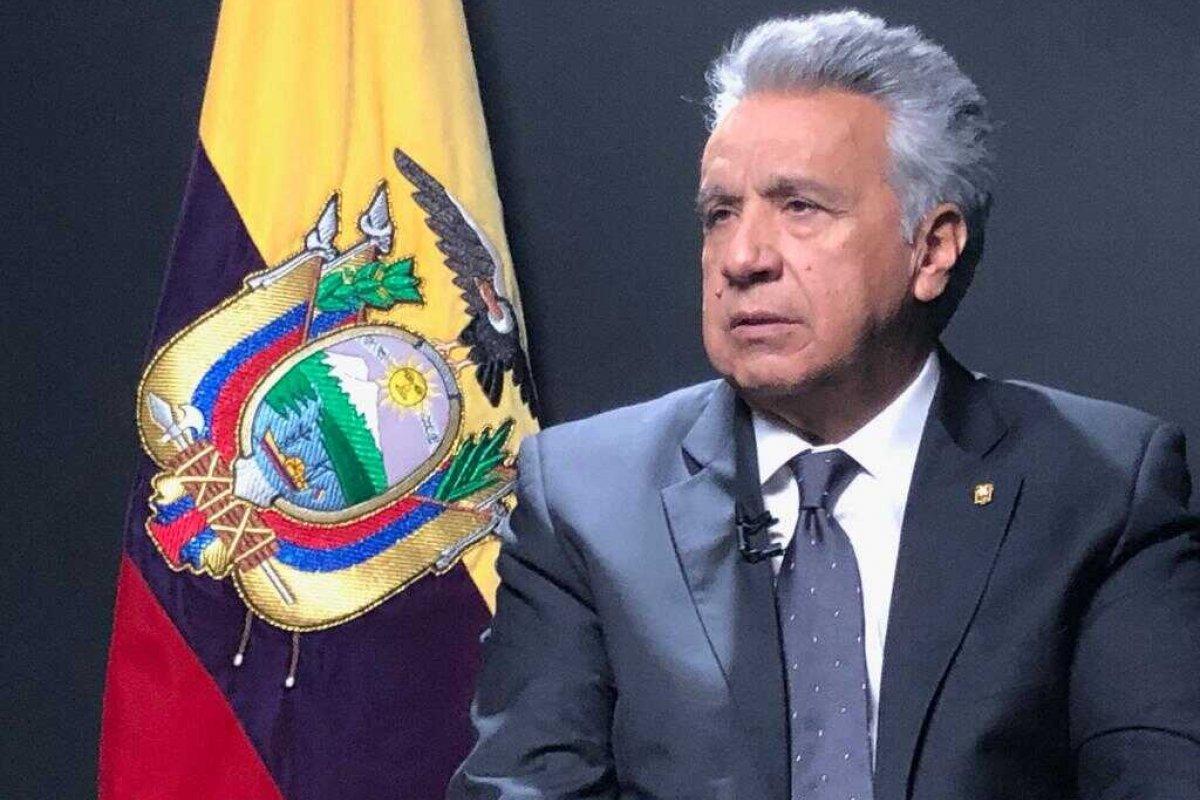 [No Twitter, Atual presidente do Equador decreta estado de exceção para frear avanço da Covid-19 ]