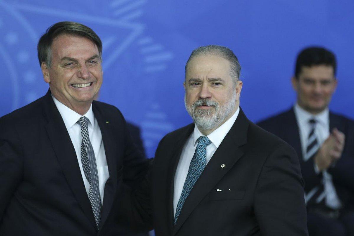 [Aras pede arquivamento de queixa-crime de Ciro Gomes contra Bolsonaro]