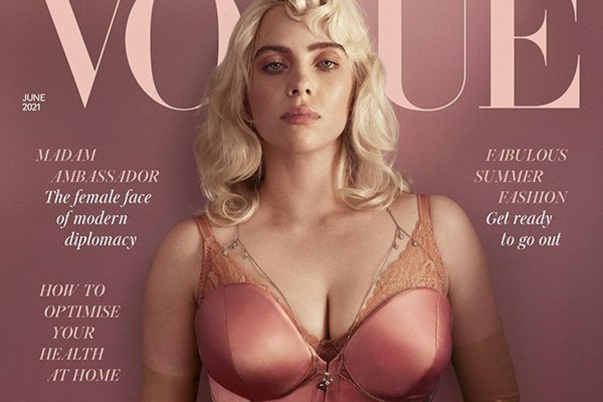 [Prestes a lançar seu novo álbum, Billie Eilish é capa da 'Vogue UK']