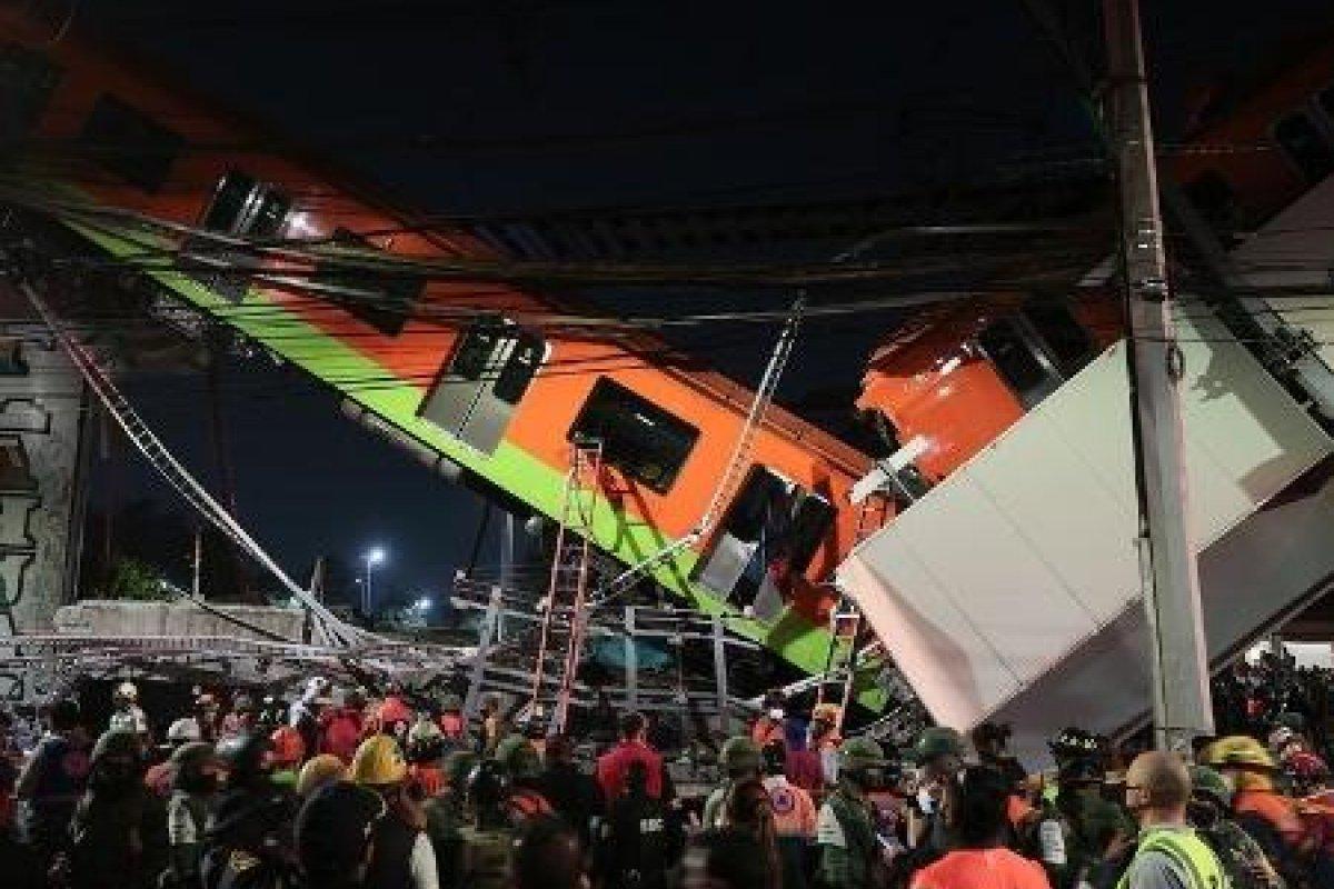 [Vídeo: Mais de 20 pessoas morrem após trem do metrô cair de avenida na Cidade do México]