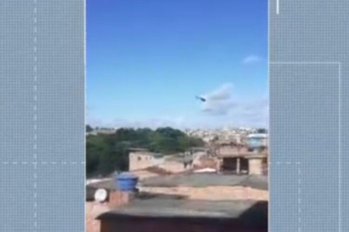 [Moradores registram troca de tiros no bairro de Tancredo Neves, em Salvador]