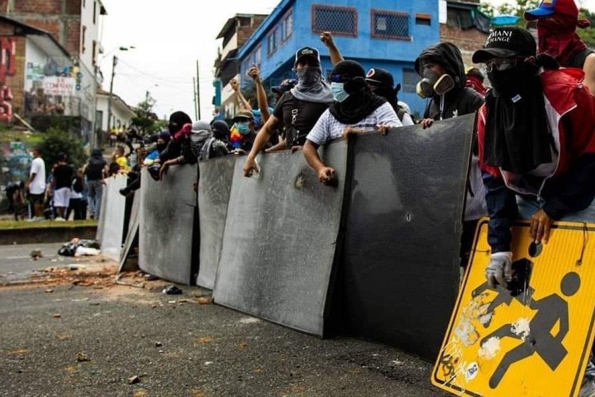 [ONU condena utilização de força excessiva da polícia em protestos na Colômbia]