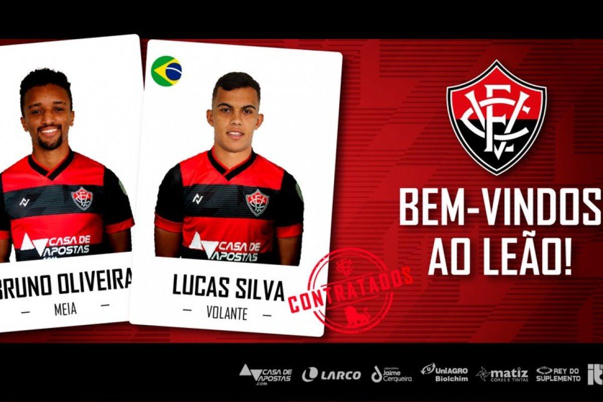 [Vitória anuncia contratação de Bruno Oliveira e Lucas Silva, da Caldense]