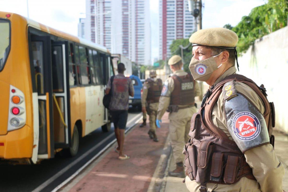 [Batalhão de Reforço Operacional amplia ações em Salvador e Região Metropolitana ]