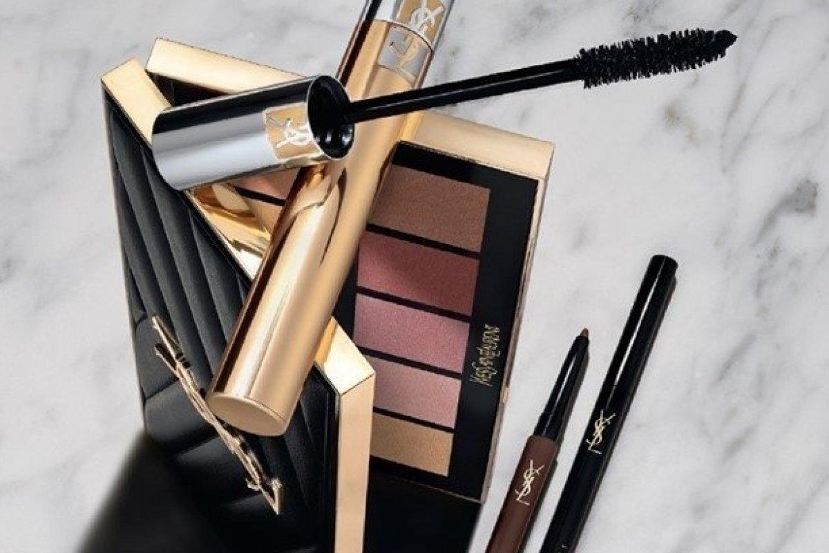 [Yves Saint Laurent Beauté comemora a chegada da linha de maquiagem ao Brasil com live comandada por Hugo Gloss  ]