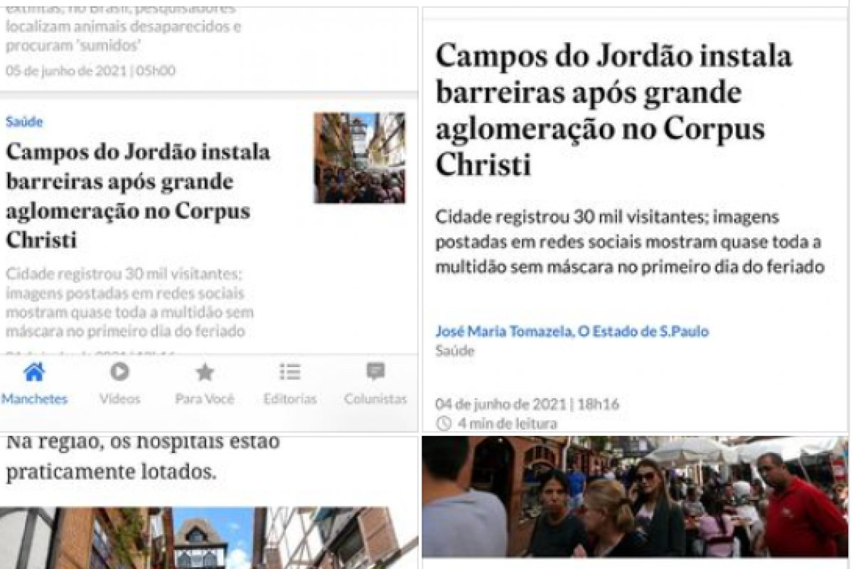 [Fonoaudióloga denuncia fake news publicado pelo jornal Estadão: 'É crime!']