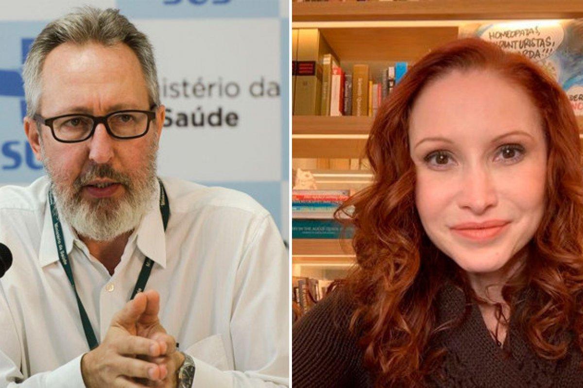 [CPI recebe hoje os cientistas Claudio Maierovitch e Natalia Pasternak ]