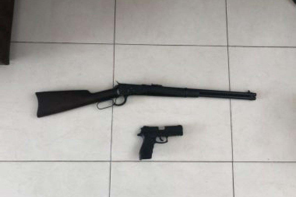 [Após operação da PF, prefeito de Candeias é detido por posse ilegal de armas ]