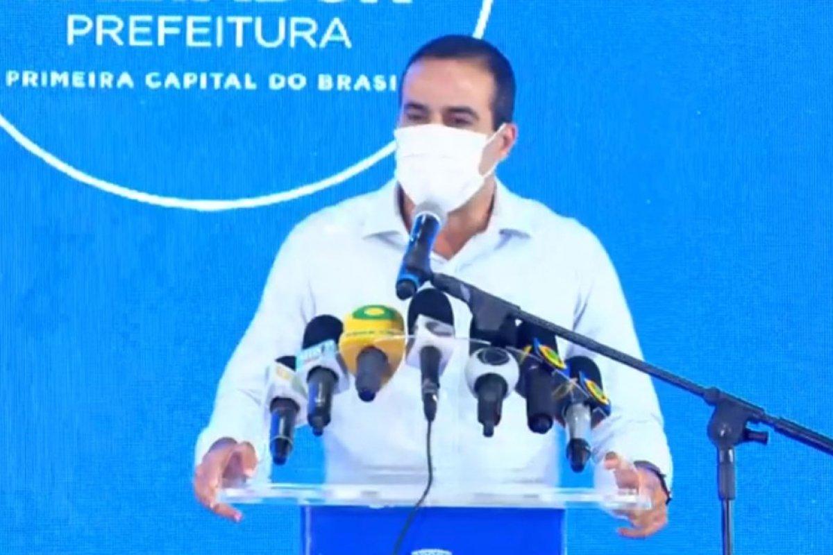 [Bruno Reis diz que Salvador deve vacinar 6 mil pessoas em situação de rua na próxima semana]