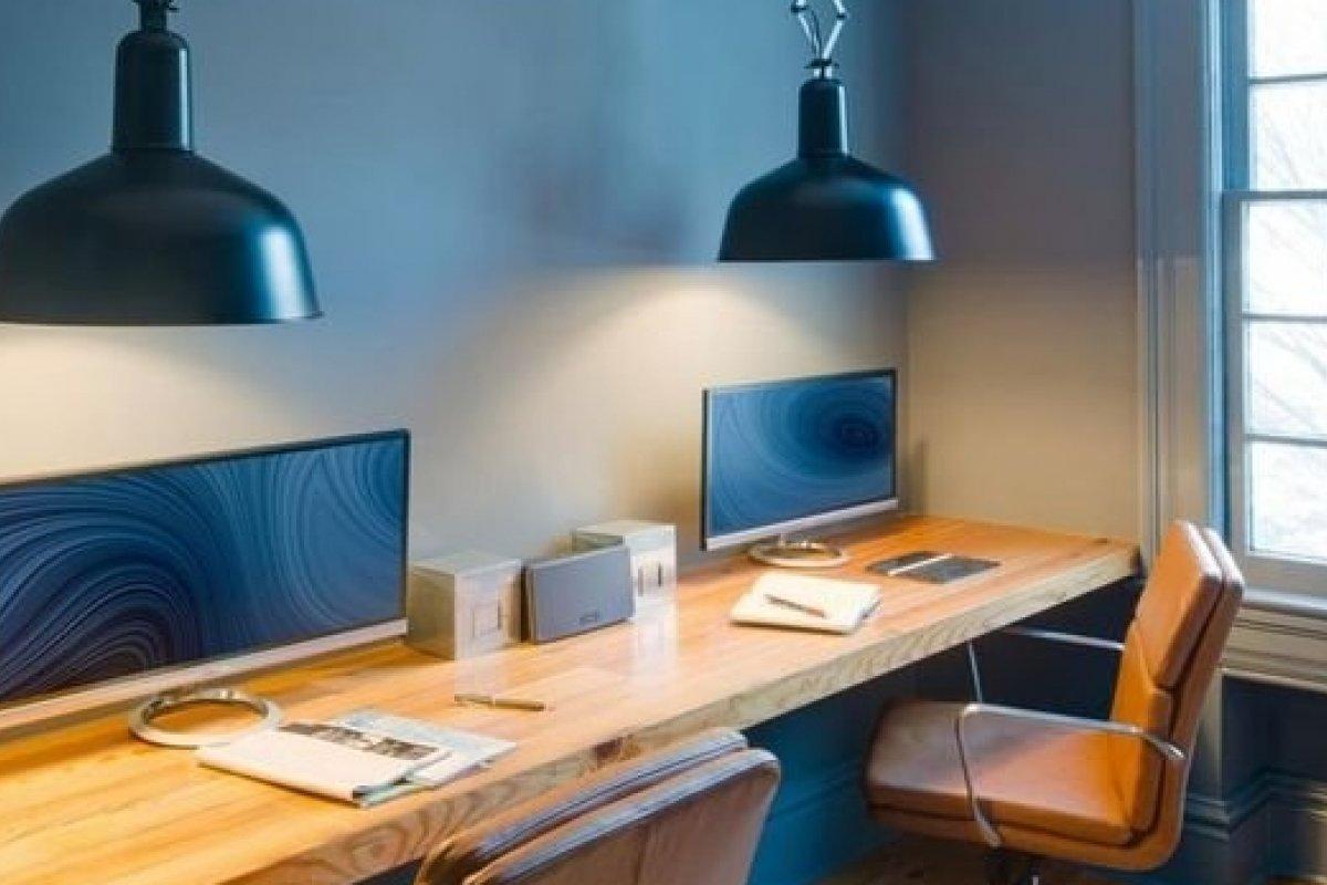 [3 cores para usar na decoração do seu escritório ]