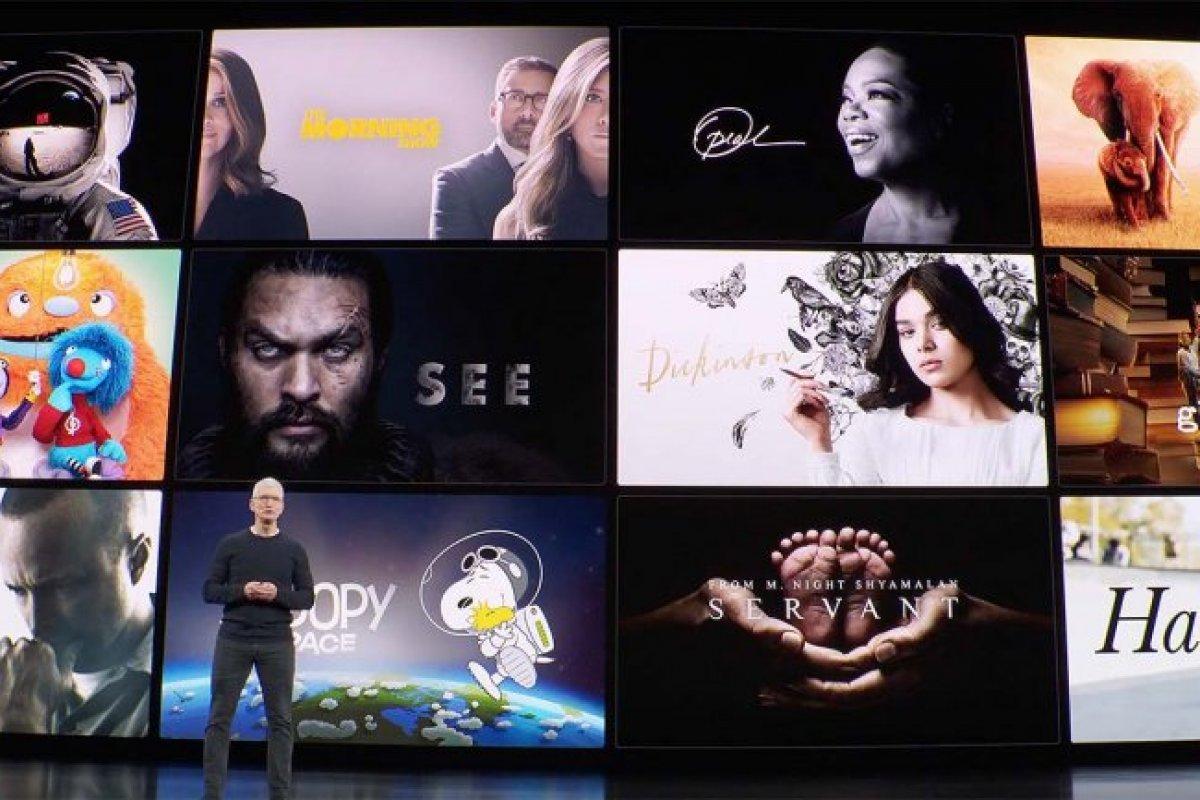 [Apple define preço e data de lançamento do serviço de streaming de TV +]