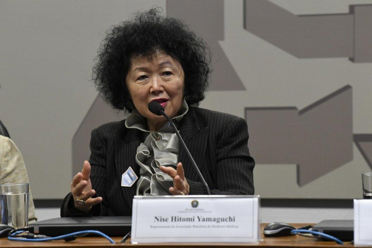 [Nise Yamaguchi move processo contra senadores da CPI e pede indenização de R$ 320 mil por danos morais]