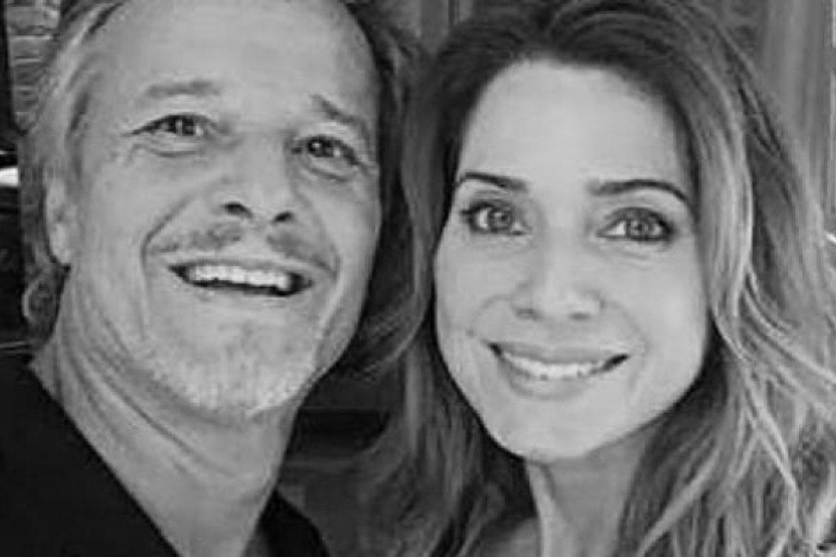 [Marcello Novaes homenageia a ex-mulher Letícia Spiller: ''Te amo'']