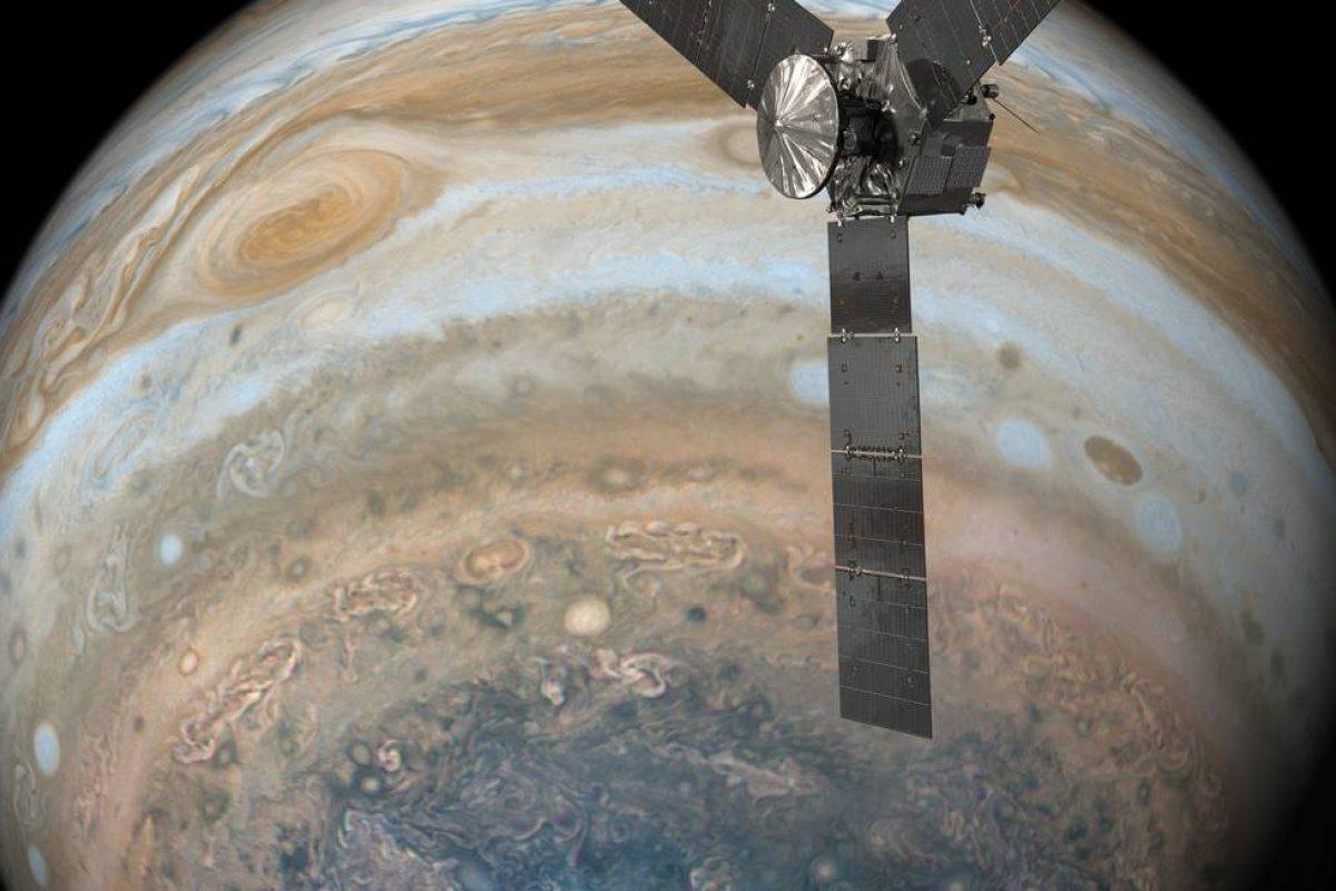 [Sonda da Nasa inicia busca por vida extraterrestre nas luas de Júpiter]