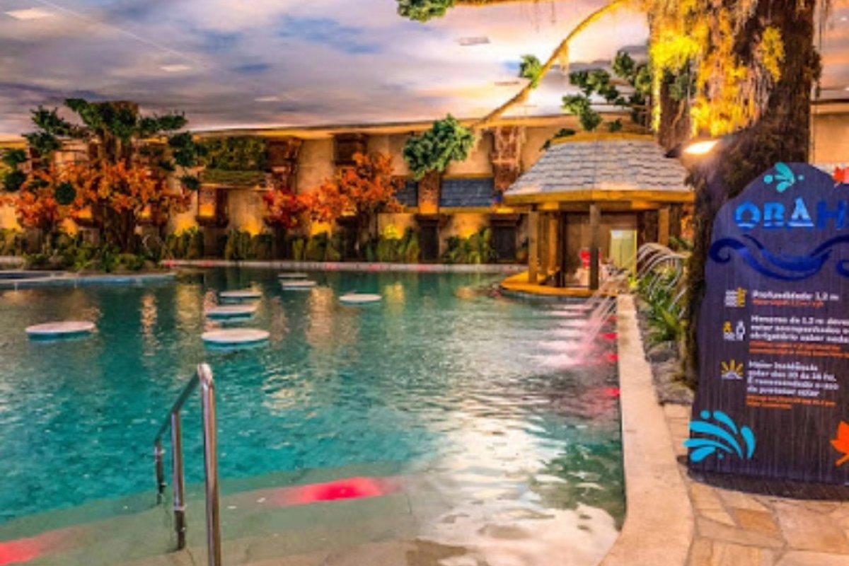 [Gramado Parks inaugura em Gramado o Acquamotion, primeiro parque aquático coberto e temático com águas termais da América do Sul]