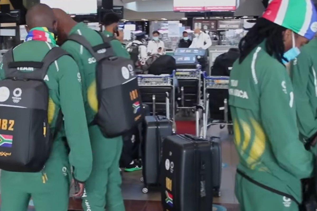 [Delegação olímpica da África do Sul registra três casos de Covid-19]