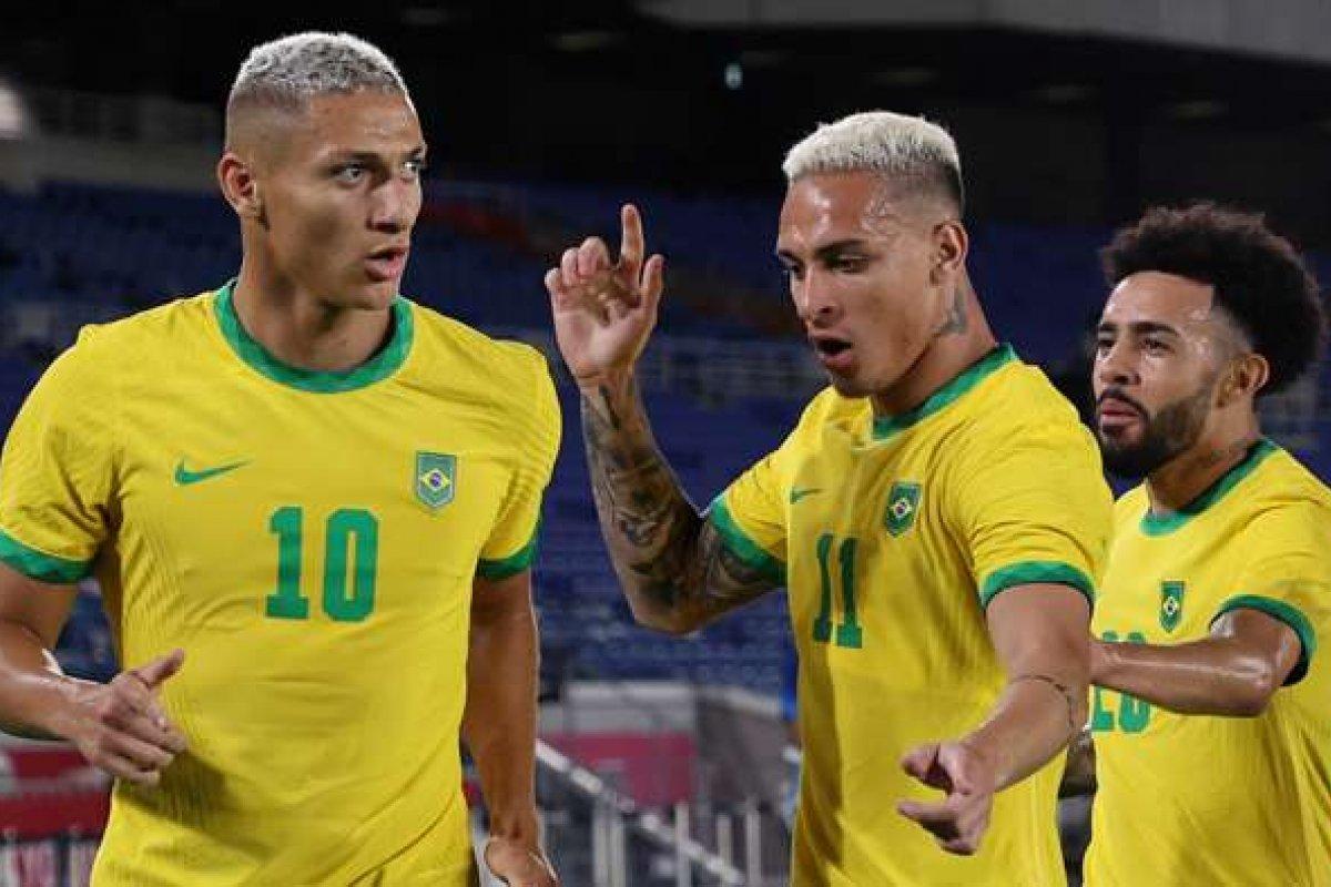 [Olimpíadas de Tóquio: Brasil vence Alemanha na estreia com três gols de Richarlison ]