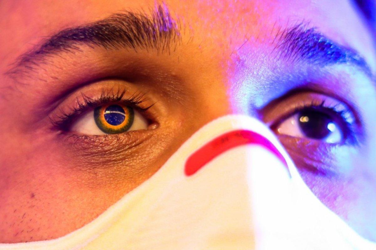 [Atleta vai competir Jogos com prótese da bandeira do Brasil após perder olho]