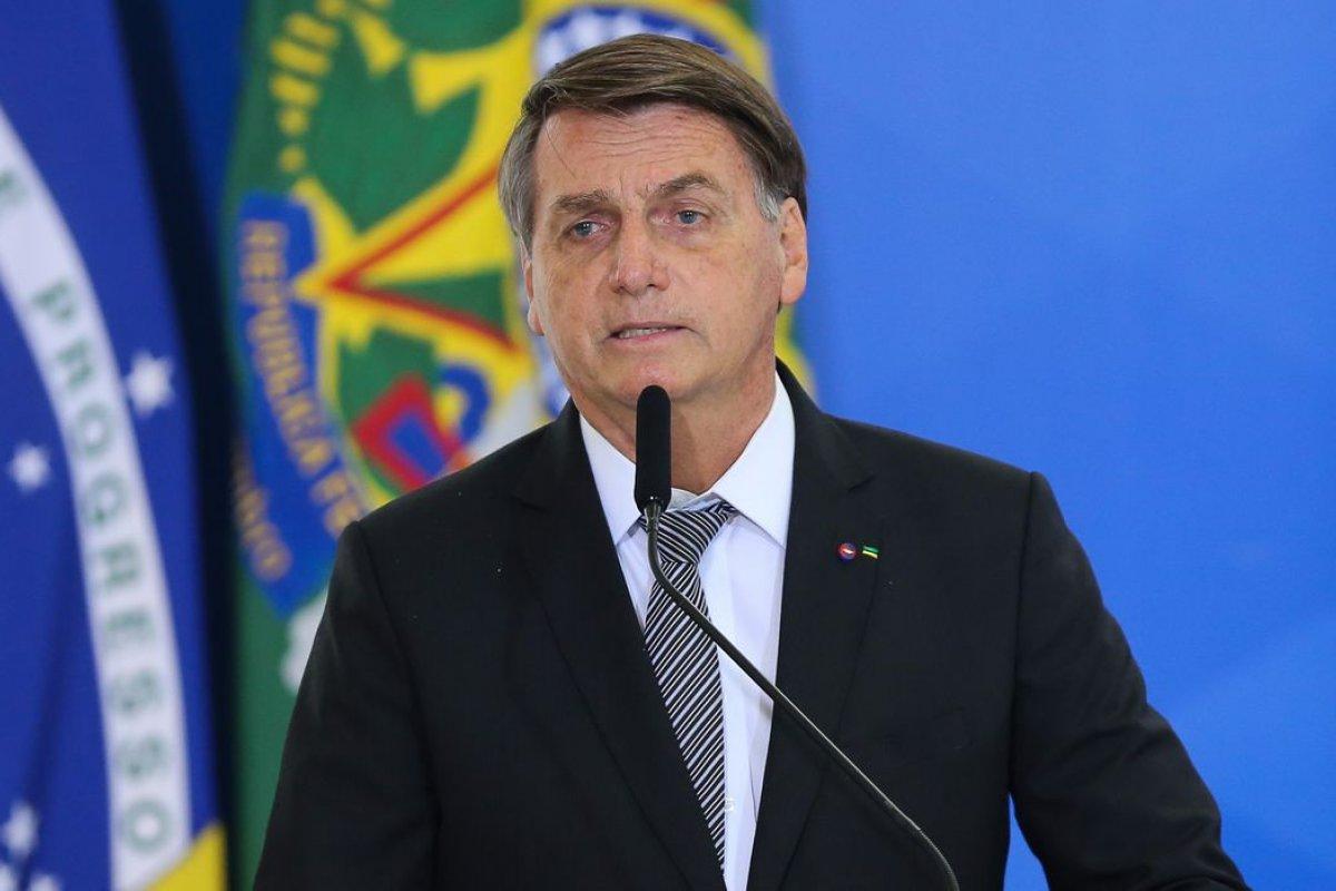"""[""""Não vou falar que sou candidato, nem que não sou"""", diz Bolsonaro sobre eleição de 2022]"""