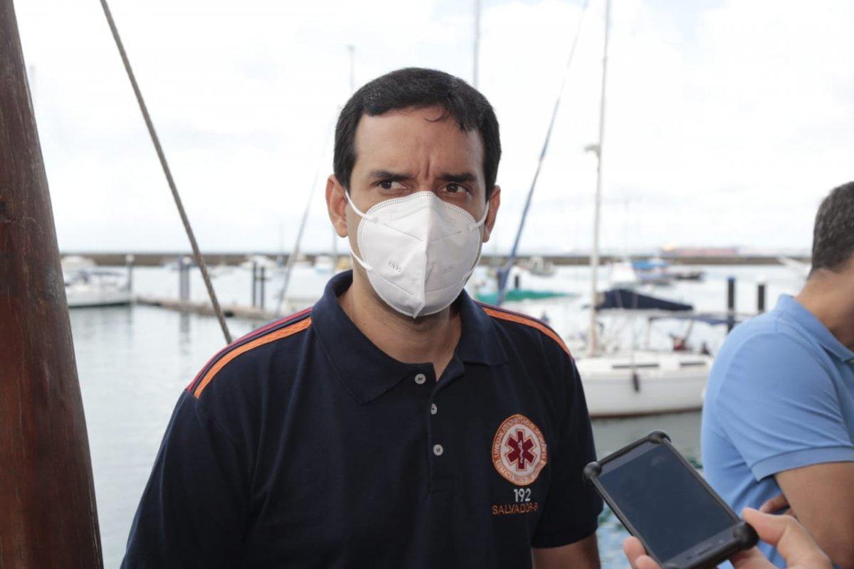 [Leo Prates é a favor de vacinação imediata de adolescentes com comorbidades ou deficiência ]