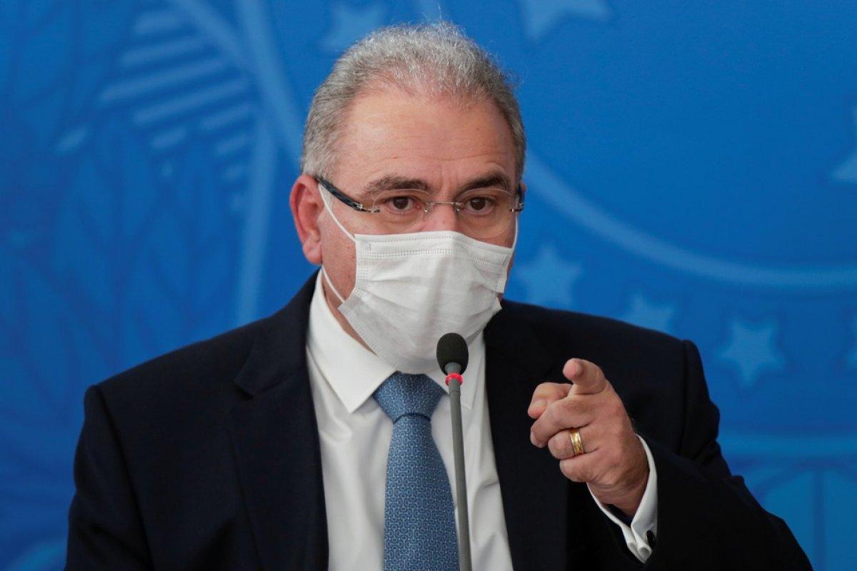 [Ministro da Saúde firma acordo com gestores da saúde para coordenação nacional da pandemia]