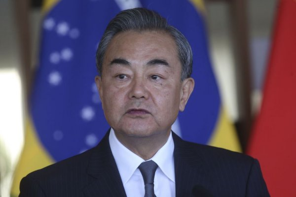 [Ministro de relações exteriores da China recebe líderes do Taleban ]