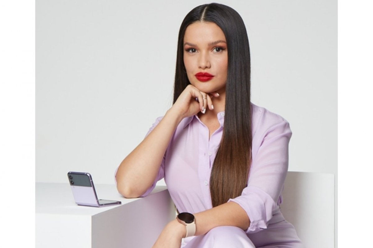 [Juliette é a nova integrante do #TeamGalaxy da Samsung no Brasil]