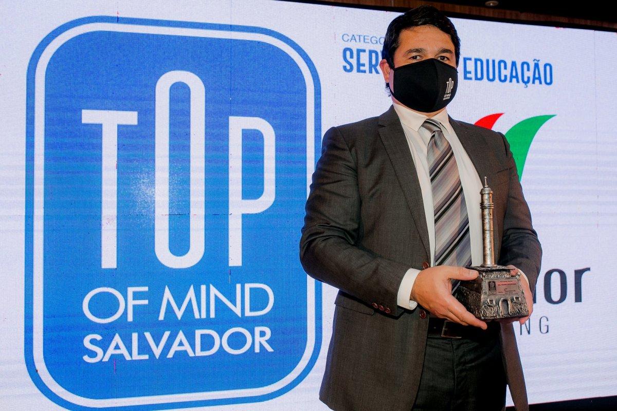 [Salvador Shopping recebeu o troféu Top Of Mind 2021]