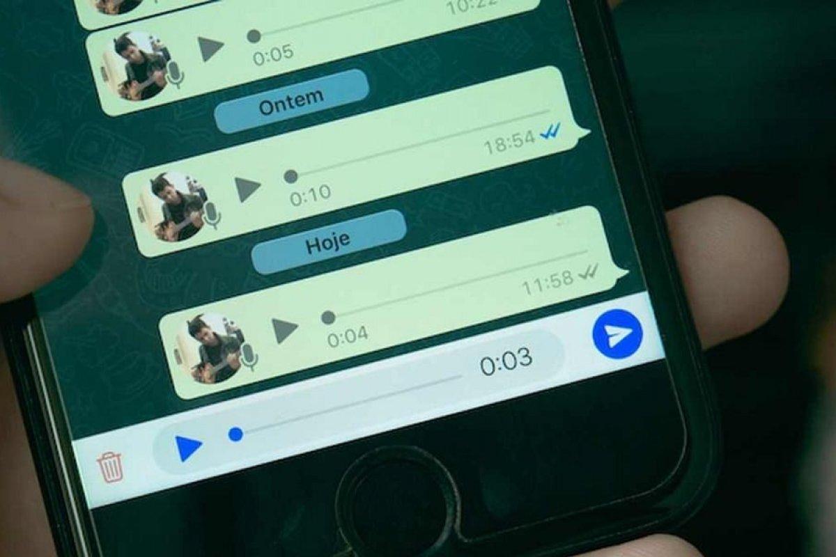 [WhatsApp testa função para transcrever mensagens de voz automaticamente]