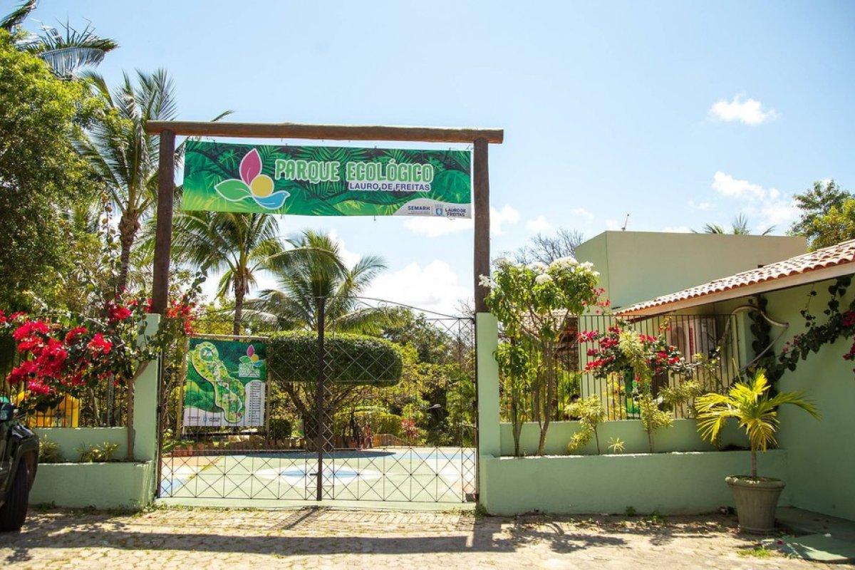 [Parque Ecológico de Lauro de Freitas reabre para visitação do público a partir desta quinta-feira (16)]
