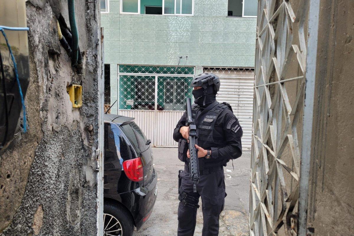 [Draco deflagra Operação Cangalha que visa enfrentar organizações criminosas na Bahia ]