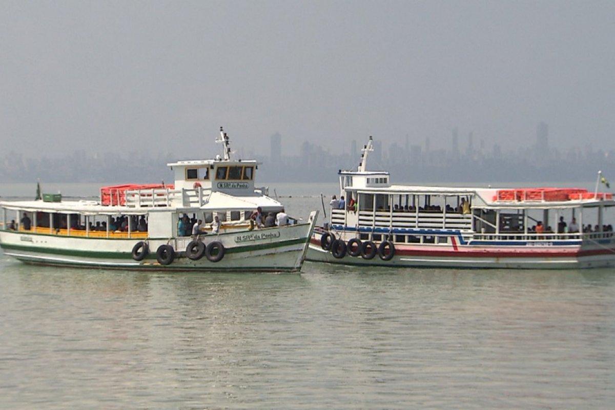 [Travessia Salvador-Mar Grande tem movimento de embarque tranquilo nesta quarta-feira (15)]