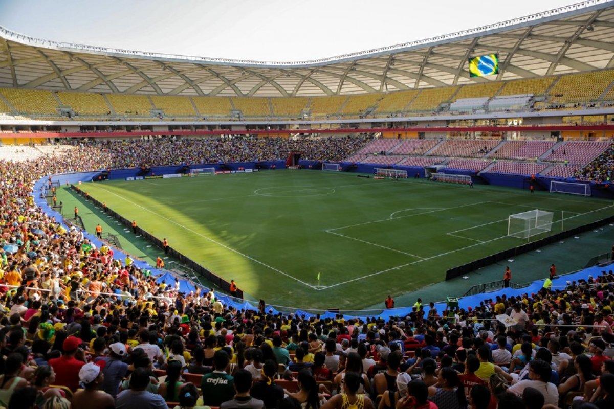 [Jogo entre Brasil e Uruguai será aberto ao público]