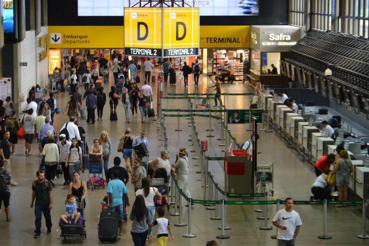 [TCU suspende obras de aerotrem no aeroporto de Guarulhos (SP)]