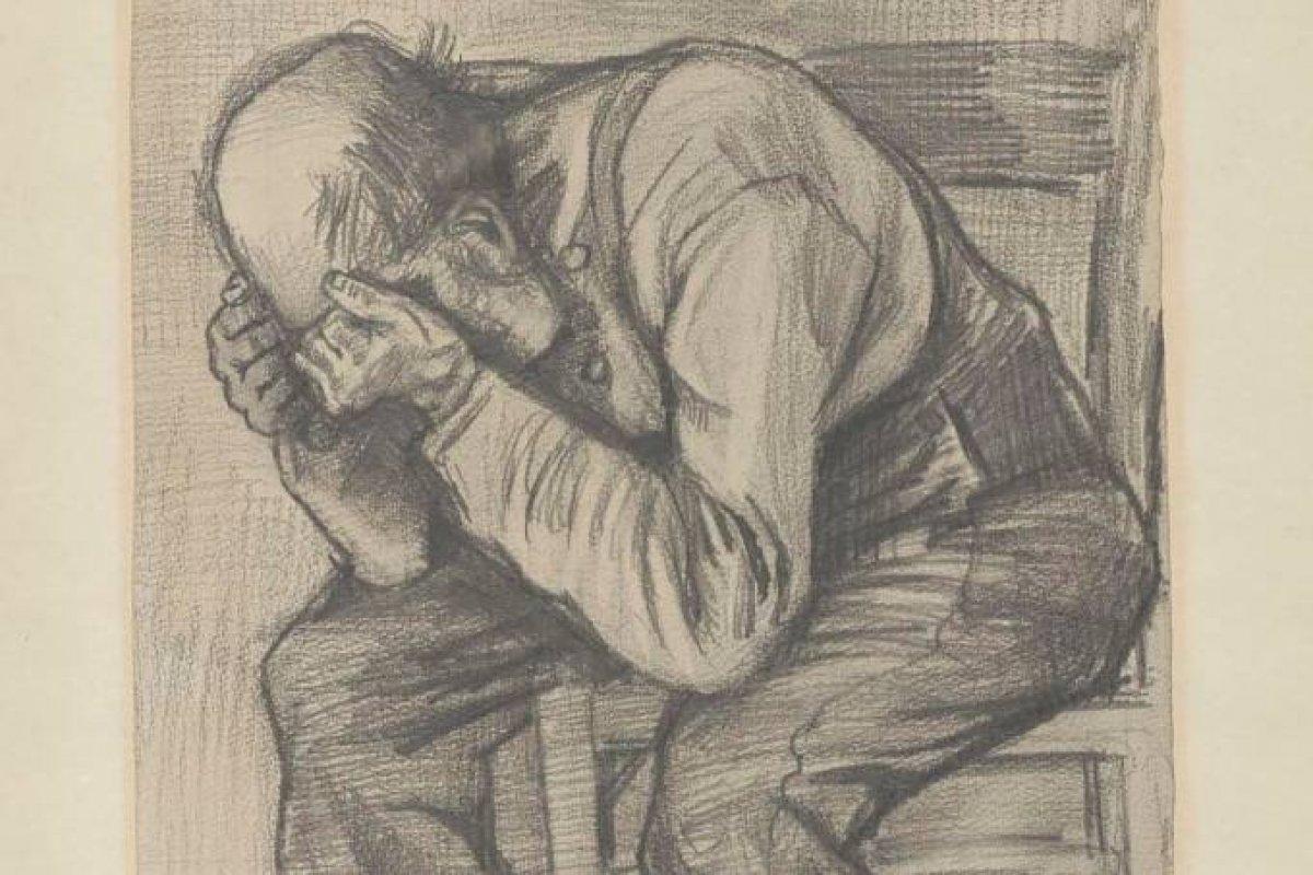 [Desenho recém-descoberto de Van Gogh será exposto em museu na Holanda  ]