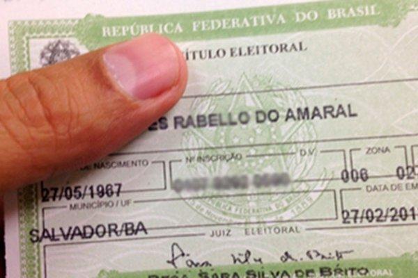 [Bahia tem cerca de 1,5 milhão de títulos eleitorais cancelados]