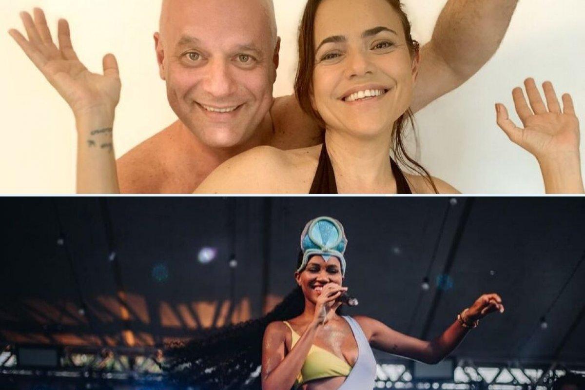 [Shows de Luedji Luna e da dupla Vânia Abreu e Marcelo Quintanilha agitam o Pelourinho]