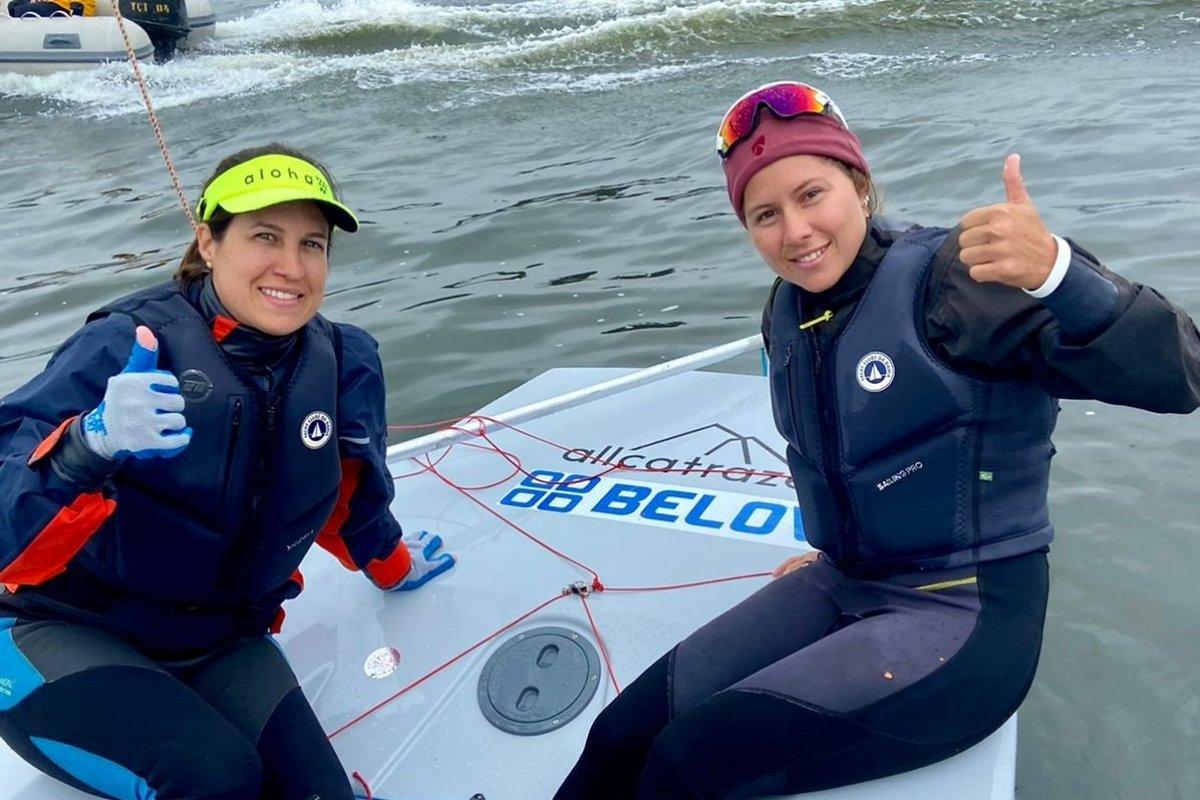 [Juliana Duque e Mila Beckerath, da Bahia, vencem o Campeonato Mundial da Classe Snipe]