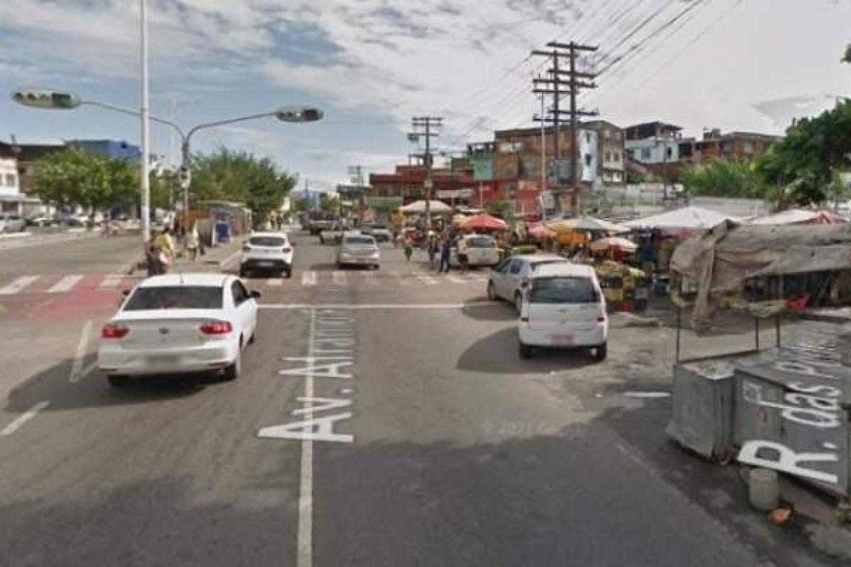[Homem é morto a tiros no bairro de Plataforma em Salvador]