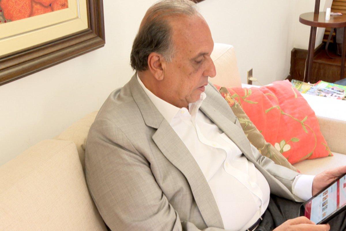 [Ex-governador Luiz Fernando Pezão continua inelegível até 2022]