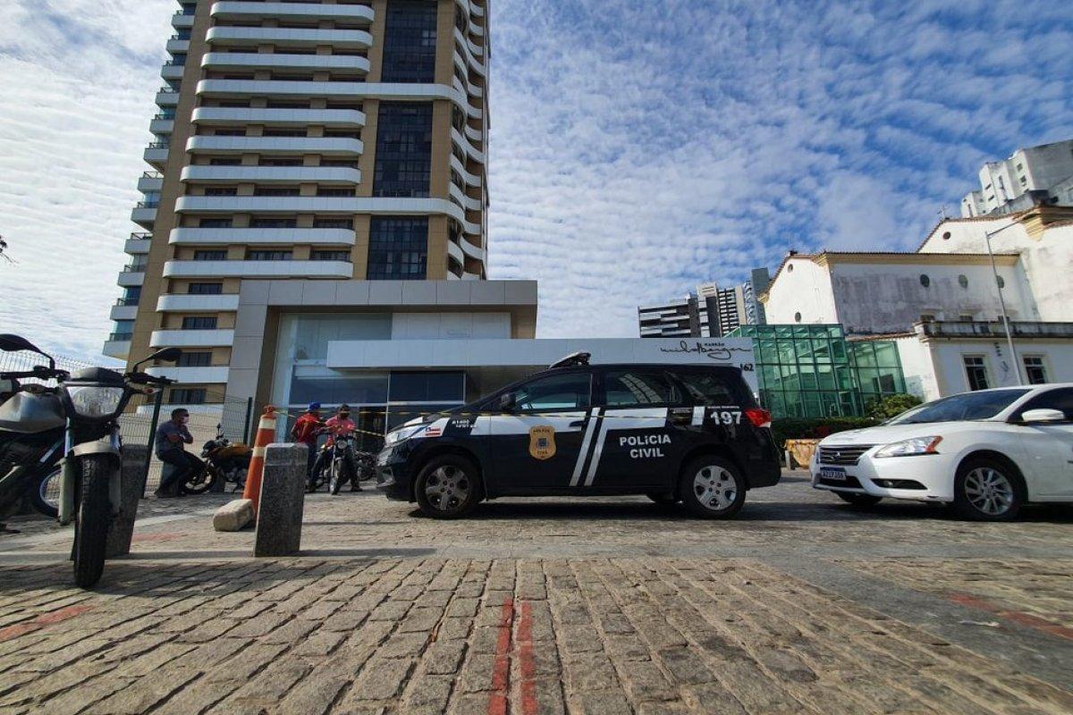 [Acidente com teleférico deixa sete pessoas feridas no bairro da Vitória, em Salvador]