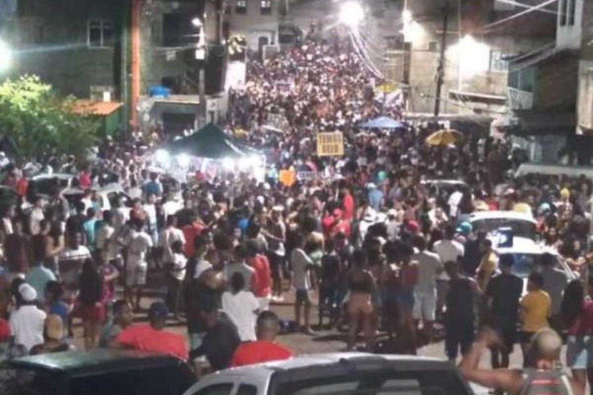 [Operação da Polícia Militar encerra 23 festas do tipo 'paredão' no fim de semana]