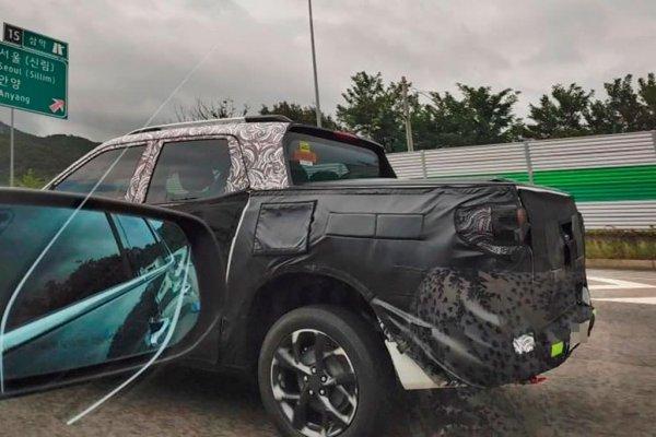[Nova Chevrolet Montana é vista em testes na Coreia do Sul ]